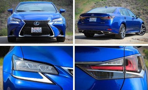2016 gs 350 changes