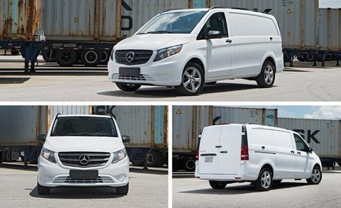 2ebe4e6305 2016 Mercedes-Benz Metris Cargo Van First Drive   8211  Review ...