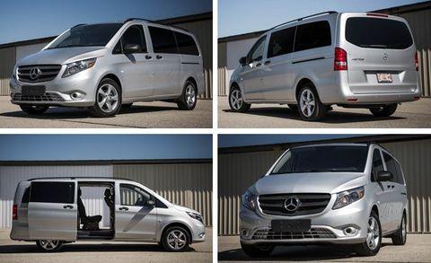 2016 Mercedes-Benz Metris Passenger Van Test –