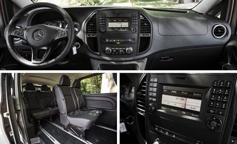 c0ff81d2164ffd 2016 Mercedes-Benz Metris Passenger Van Test   8211  Review   8211 ...