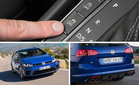 2016 Volkswagen Golf R SportWagen First Drive –