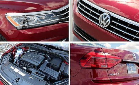 2016 Volkswagen Passat 1 8T SEL Tested –