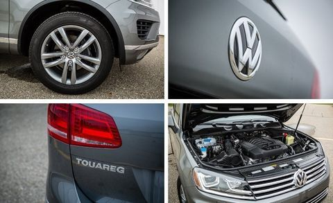 2016 Volkswagen Touareg Test –