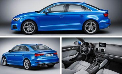 2017 Audi A3 Sedan and Convertible Photos and Info –