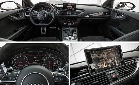 2017 Audi Rs7 Performance Test Review Car And Driver