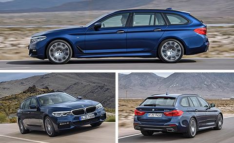 2018 Bmw 5 Series Wagon Euro Spec First Drive Review Car