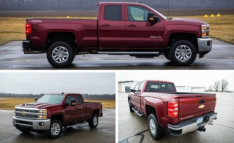 2017 Chevrolet Silverado 2500HD 4x4 Diesel Tested | Review