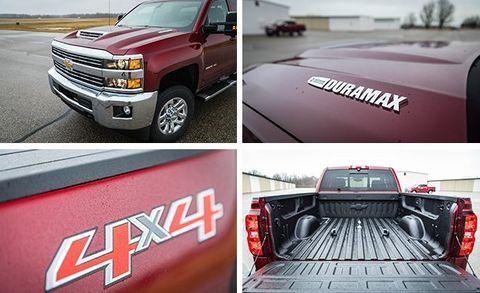 2017 Chevrolet Silverado 2500HD 4x4 Diesel Tested | Review