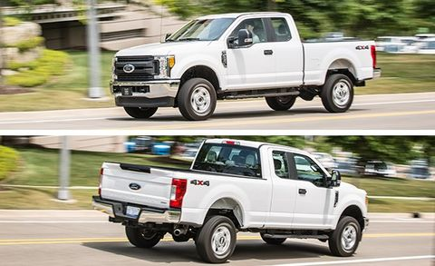 2017 Ford F250 Diesel Mpg >> 2017 Ford F 250 Super Duty Gasoline V 8 Supercab 4x4 Test