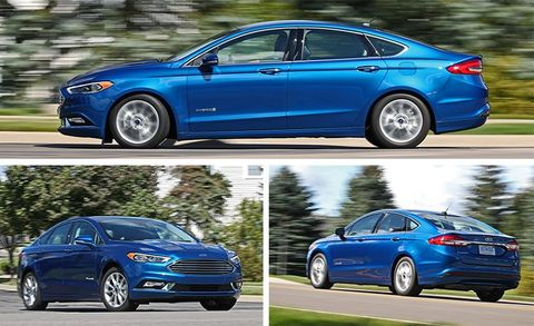 2017 Ford Fusion Hybrid Test   Review   Car and Driver
