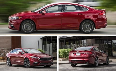 Ford Fusion Sport 0 60 >> Tested 2017 Ford Fusion Sport 8211 Review 8211 Car