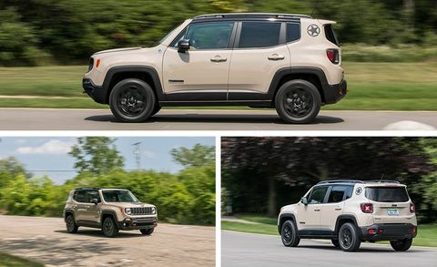 Jeep Renegade Desert Hawk >> 2017 Jeep Renegade Deserthawk 4x4 Test Review Car And Driver