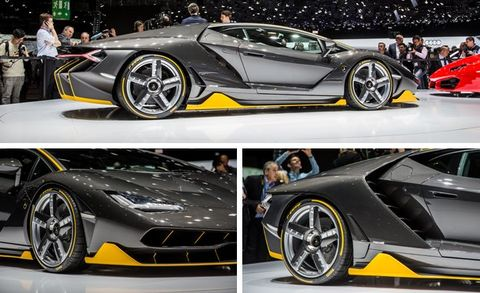 2017 Lamborghini Centenario Official Photos And Info 8211 News