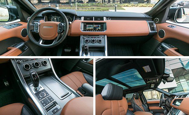 The Interior Is Filled With Quality Materials And Has Premium Look Feel Of All Range Rover Sports But Given Autobiography Label