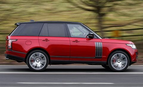 2018 Range Rover SV Autobiography Dynamic >> 2017 Range Rover Svautobiography Dynamic 8211 Review