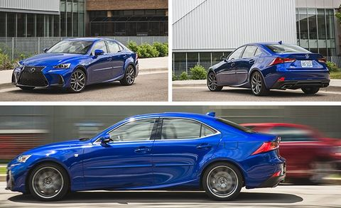 Lexus Is350 F Sport >> 2017 Lexus Is350 F Sport Rwd Test Review Car And Driver