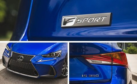 2017 Lexus IS350 F Sport RWD Test   Review   Car and Driver
