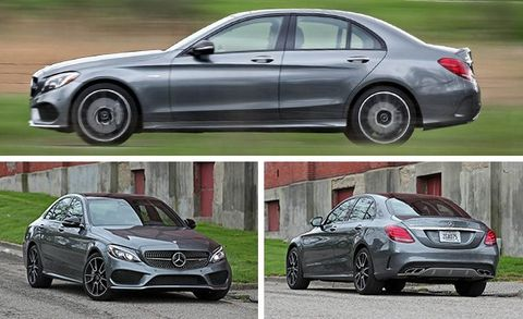 2017 Mercedes-AMG C43 Sedan Test   Review   Car and Driver