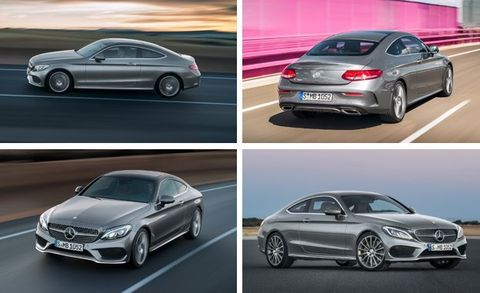2017 Mercedes-Benz C-class Coupe Photos and Info –