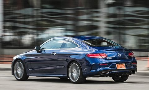 2017 Mercedes Benz C300 Coupe Test 8211 Review