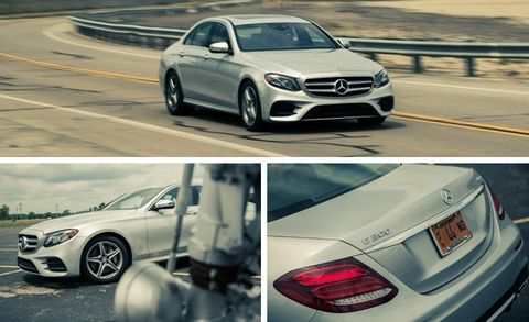 2017 Mercedes-Benz E300 4MATIC Test –