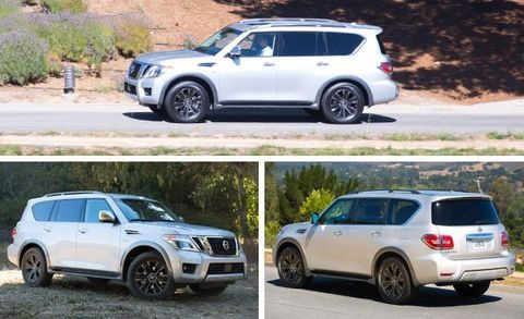 2017 Nissan Armada Configurations >> 2017 Nissan Armada First Drive 8211 Review 8211 Car And Driver