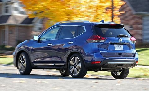 2017 Nissan Rogue AWD Tested –