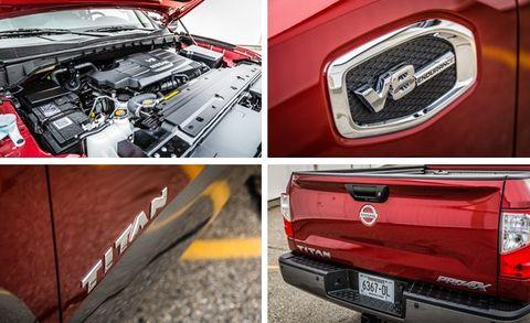 2017 Nissan Titan Pro-4X 4WD Endurance V-8 Crew Cab Test –