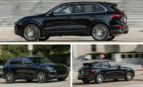 2017 Porsche Cayenne Turbo S Test | Review | Car and Driver