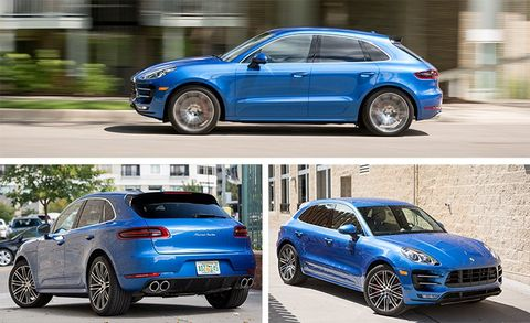 2017 Porsche Macan Turbo With Performance Package Test