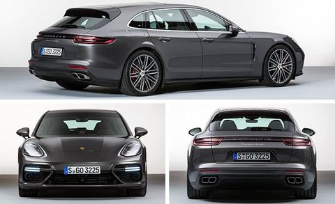 Panamera Sport Turismo View Photos