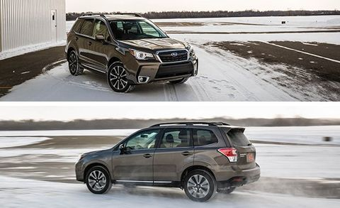 2017 Subaru Forester 8211 Review Car And Driver