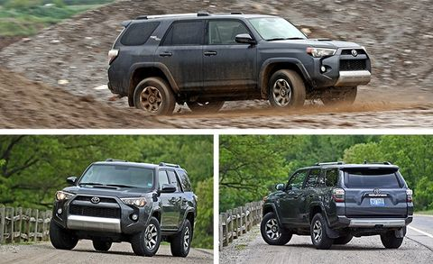 2017 Toyota 4Runner 4x4 Test | Review | Car and Driver