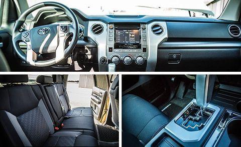 2017 Toyota Tundra 5 7L V-8 CrewMax 4x4 Test –