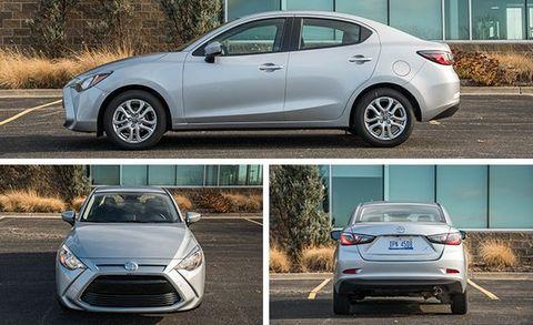 2017 Toyota Yaris Ia Manual Tested