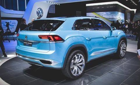 2018 Volkswagen Three Row Crossover Suv 8211 Review