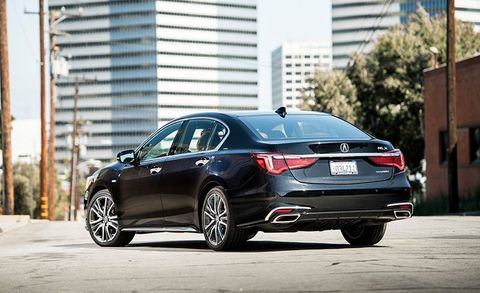 2017 Acura Rlx Sport Hybrid >> 2018 Acura Rlx Sport Hybrid Sh Awd Test Review Car And Driver