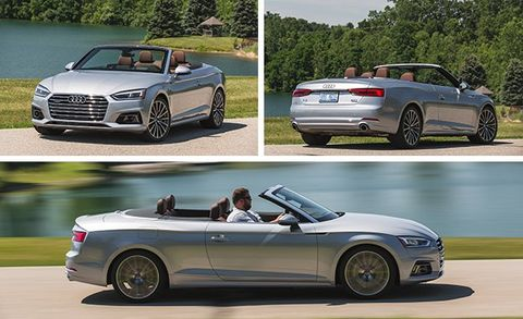 2018 Audi A5 Cabriolet Test Review Car And Driver