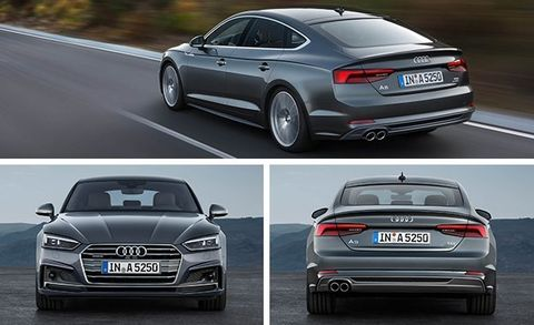 2018 Audi A5/S5 Sportback Official Photos and Info –