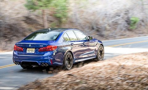 Bmw M5 0 60 >> 2018 Bmw M5 Test Review Car And Driver