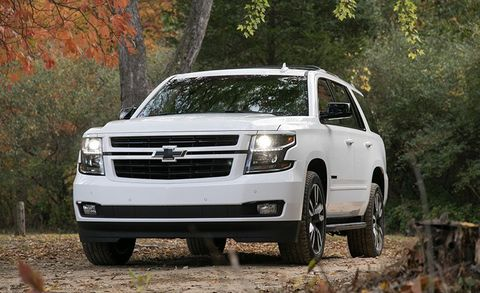 Tahoe Towing Capacity >> 2018 Chevrolet Tahoe Rst 6 2l 4wd Test Review Car And Driver