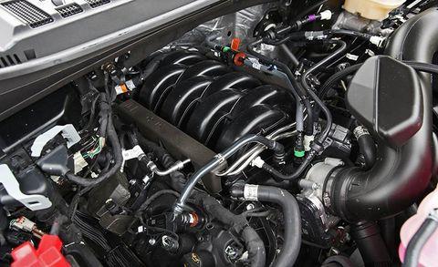 ford coyote 5 0 engine diagram 2018 ford f 150 5 0l v 8 4x4 supercrew review car and driver  2018 ford f 150 5 0l v 8 4x4 supercrew