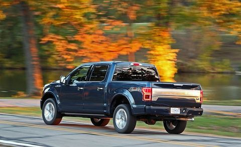 2018 Ford F-150 5 0L V-8 4x4 SuperCrew | Review | Car and Driver