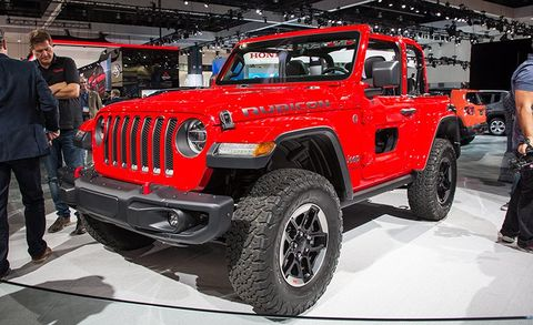 2018 Jeep Wrangler JL Finally Unveiled: All the Details, All