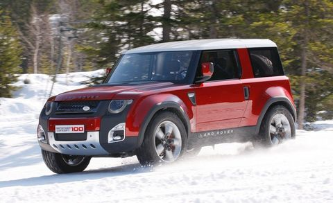 What It Is The Next Generation Of Land Rover S