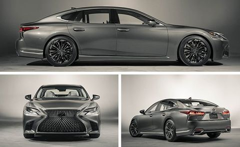 2018 Lexus Ls And Ls500 Photos And Info 8211 News 8211 Car And