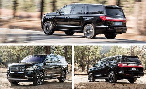 2018 Lincoln Navigator L Black Label: Review, Price >> 2018 Lincoln Navigator L Black Label Test Review Car And
