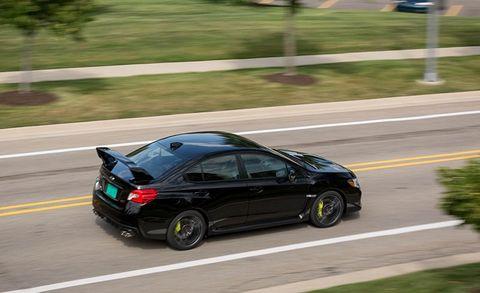 2018 Subaru WRX STI Test   Review   Car and Driver