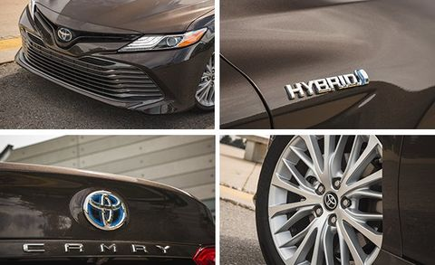 2018 Toyota Camry XLE Hybrid Test   Review   Car and Driver