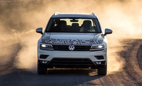 2018 Volkswagen Tiguan Prototype Drive –